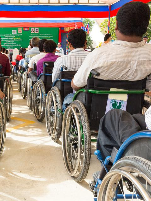 LDSC WHEELCHAIR DISTRIBUTION